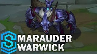 Marauder Warwick (2017 Rework) Skin Spotlight - Pre-Release - League of Legends