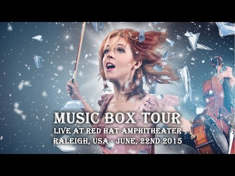 Lindsey Stirling live at Red Hat Amphitheater, Raleigh, USA - June, 22nd 2015