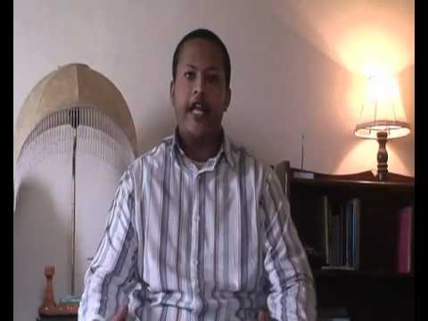 Comedian Abiy - Celebrities Message to Gaddafi