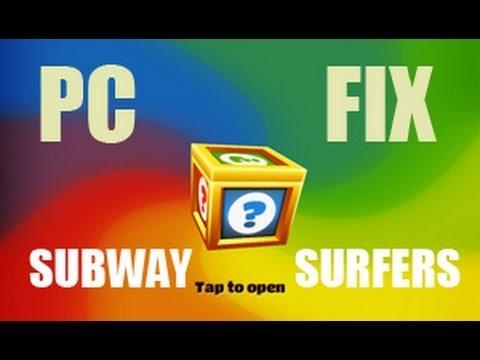 Subway Surfers (2012) !PC! Keyboard Not Working ? FIX !