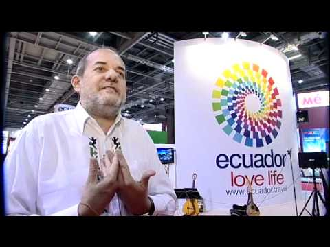 Ecuador at the World Travel Market London Exposure TV