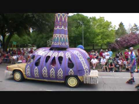 Best of Houston ART CAR Parade 2010 - EDITED