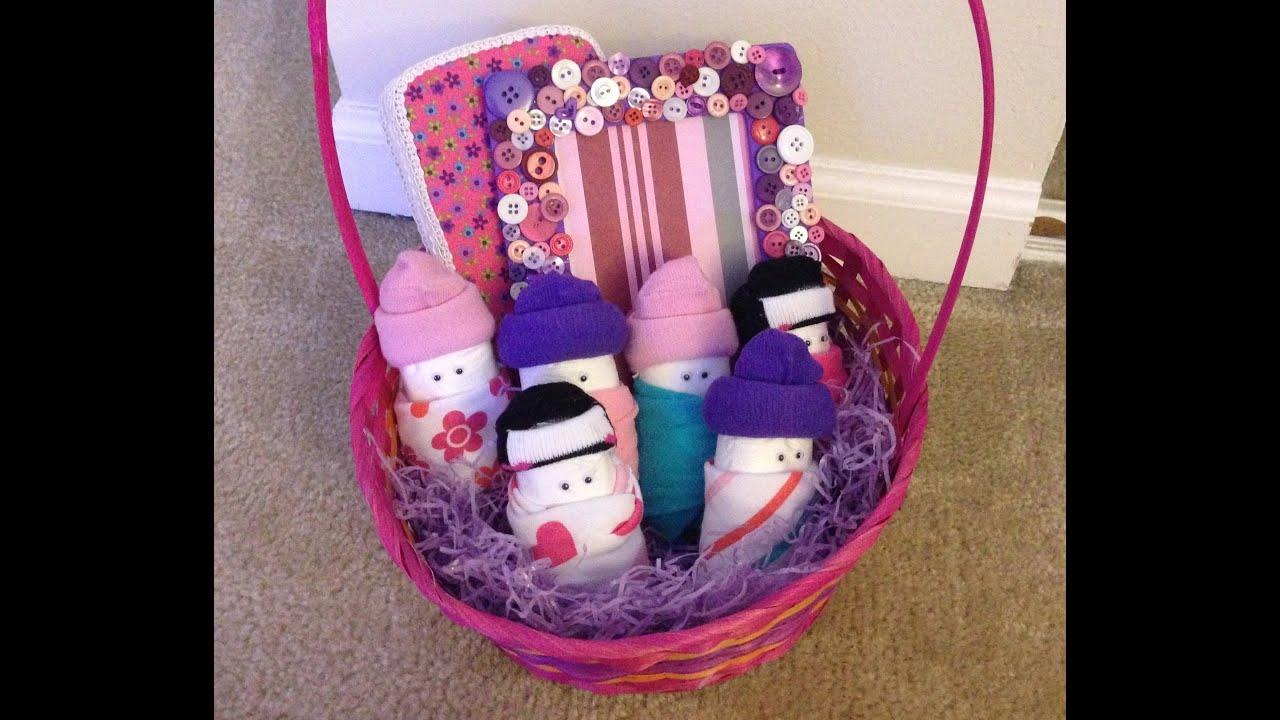DIY Baby Shower Gift Basket (Updated)