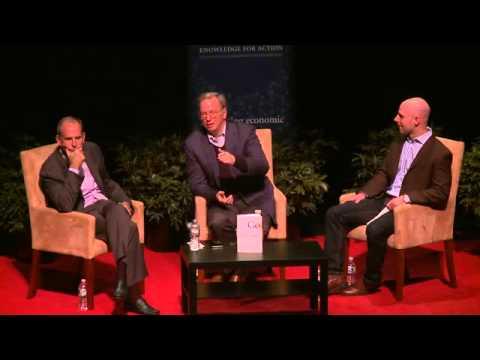 Authors@Wharton Speaker Series presents Eric Schmidt and Jonathan Rosenberg