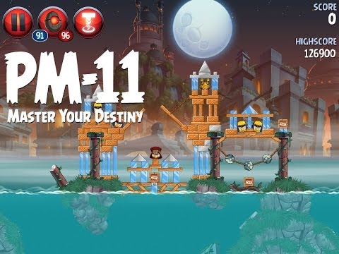 Angry Birds Star Wars 2 Level PM-11 Master Your Destiny 3 Star Walkthrough