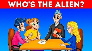 Who Is An Alien? 16 Modern Riddles For Modern Minds Only