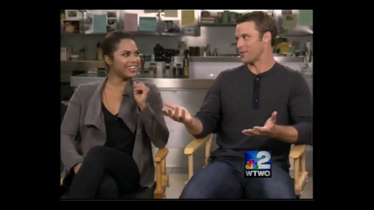 Jesse Spencer and Monica Raymund interviews - YouTube