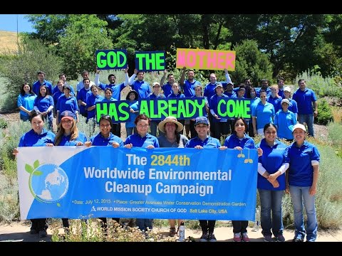 World Mission Society Church of God in Utah: Water Conservation Garden Cleanup