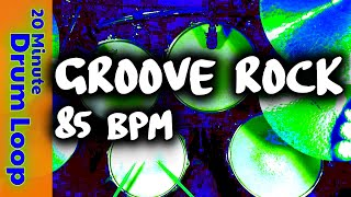 20 Minute Backing Track - Groove Rock 85 BPM