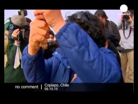 Chile miners families  celebrate as rescue... - no comment