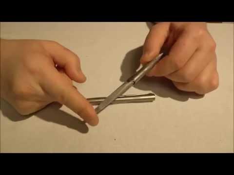 Как сделать наконечник с дюбелями