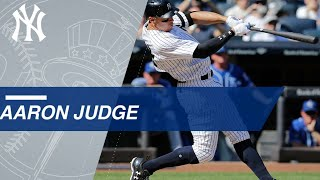 See all 52 of Aaron Judge's rookie record homers