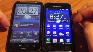 HTC  Desire HD vs Samsung Galaxy s (confronto completo ita) by HDblog