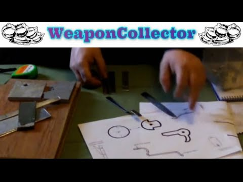 How to make a Pistol Crossbow Part 1 -  Materials & Plans