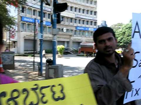 Mission Peace- Stop sound pollution in Bangalore!!! Video 2