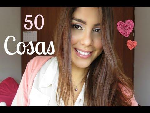 TAG ♡ 50 Cosas que no sabias de MI.