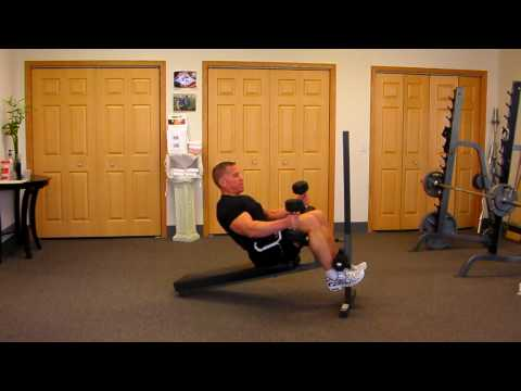 Crunch & Curl for Abdominals, Stomach, Arms,  and Biceps