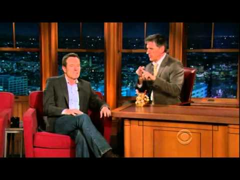 Late Late Show with Craig Ferguson 5/12/2010 Bryan Cranston, Angela Kinsey