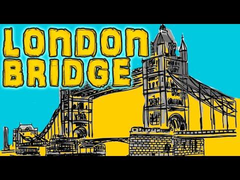 London Bridge Is Falling Down |  Animation  Nursery Rhyme video