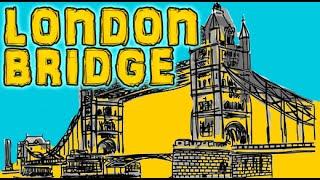 3D Animation London Bridge Is Falling Down Nursery Rhymes for Children | Cartoon Rhymes Songs