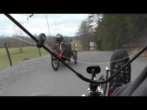 Recumbent Trike Tour, Cades Cove, TN 2014-02-09, ActionBent, Catrike