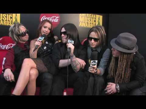 SHINEDOWN EXCLUSIVE @ The American Music Awards 2009