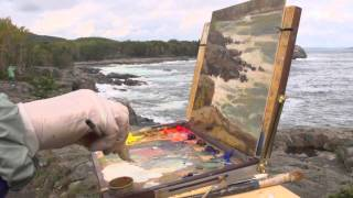 Painting Dramatic Seascapes with Jean Perry