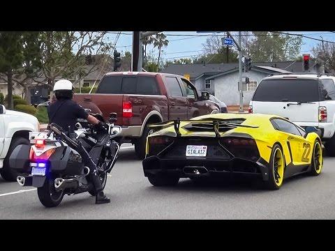 Cops vs Supercars Mega Compilation