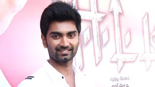 Atharvaa shares about his experience in Eetti