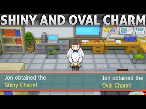 pokemon sun how to get shiny charm
