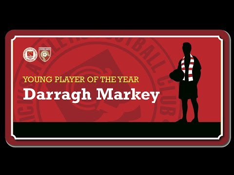 2017 Young Player of the Year - Darragh Markey
