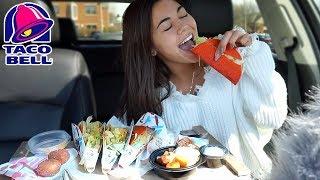 Taco Bell Mukbang!! (All 3 Flavors of Doritos Tacos)