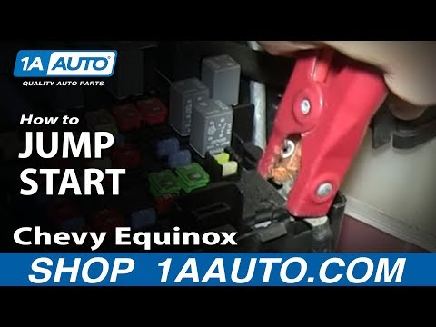How To Jump Start Pontiac Torrent Chevy Equinox Remote Battery Connections