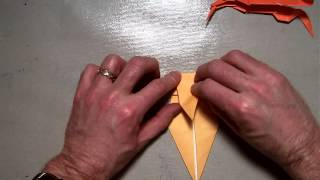 Origami Crawfish (kasahara)
