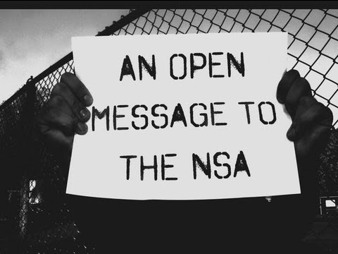 An Open Message to the NSA
