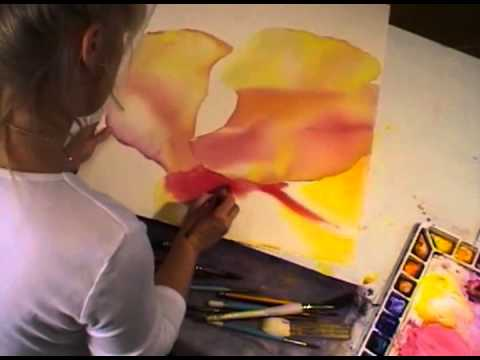 Watercolor with Birgit O'Connor: Within the Flower