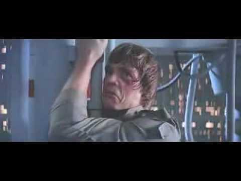 Luke vs Vader Star Wars Episode VI Return of the Jedi. 7:19