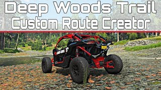 Forza Horizon 4 - Deep Woods Trail Custom Route - First Person Can Am