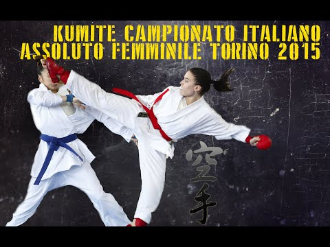 KARATE KUMITE Campionato Italiano Assoluto Femminile 2015