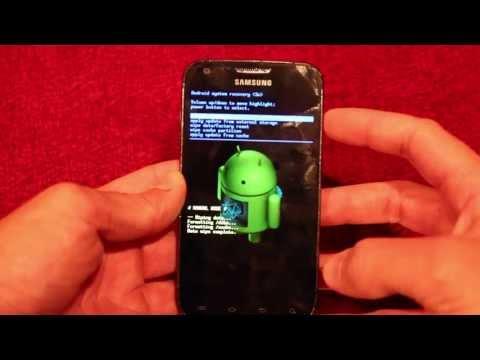 Hard Reset Samsung Galaxy S2 SGH-T989D S II SGH-I997R