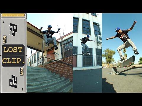 Chaz Ortiz Lost Zoo York Metropolis Skateboarding Clip #167