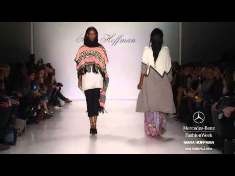 """MARA HOFFMAN"" New York Fashion Week Fall Winter 2014 2015 by Fashion Channel"