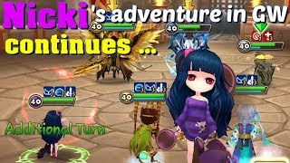 Summoners War - More Nicki in Guild War; and fights against Mi Ying and Odin