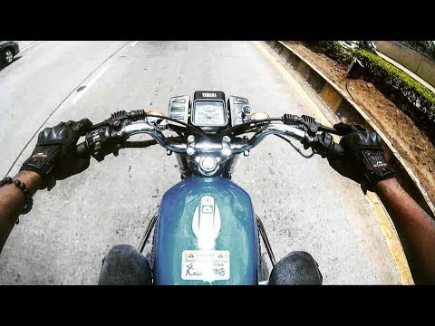A Newly Restored YAMAHA RX100 // Ride // Cinematic //