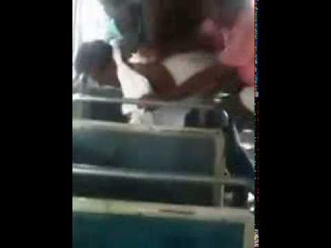 Sri Lanka Bus Fight video