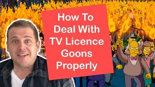 How To Deal With TV Licence Inspectors (Goons)