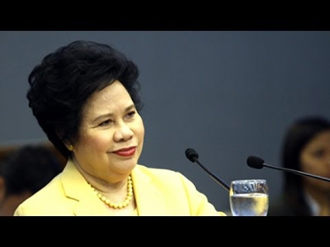 FULL STORY: http://www.rappler.com/nation/59768-miriam-ombudsman-god Senator Miriam Santiago welcomes the Ombudsman's decision to deny the appeals of the 3 s...