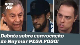 """""""ENCHEU o SACO falar do Neymar? Mas ele é o nosso ÚNICO jogador!"""" Debate PEGA FOGO!"""