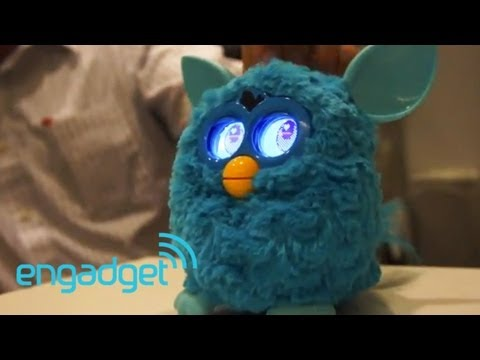 Furby gets a reboot for 2012. we go hands-on
