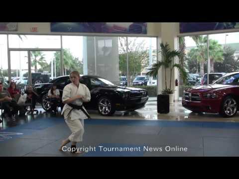 Katie Brunner Adult Forms Finals at Fighting Lion Championship 2011